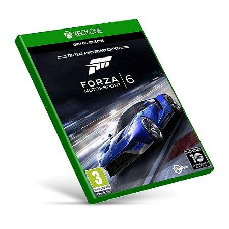 Forza Motorsport 6 - Mídia Digital - Xbox One