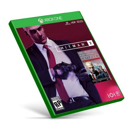 Hitman 2 - Xbox One - Mídia Digital