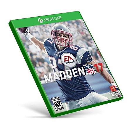 Madden NFL 17 - Xbox One - Mídia Digital