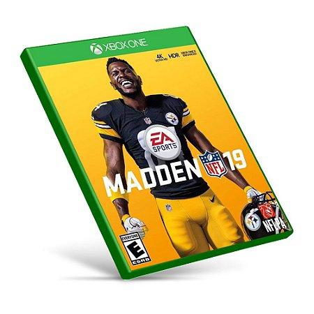 Madden NFL 19 - Xbox One - Mídia Digital