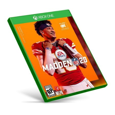 Madden NFL 20 - Xbox One - Mídia Digital
