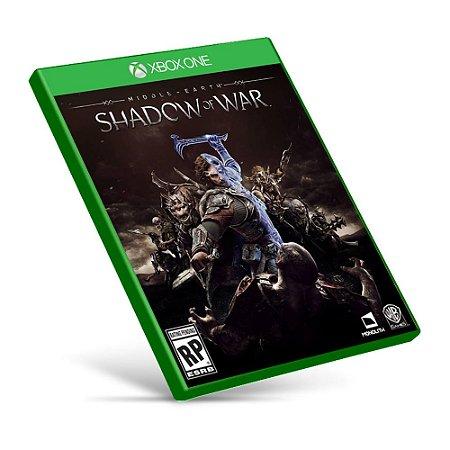 Middle-earth Shadow of War - Xbox One - Mídia Digital