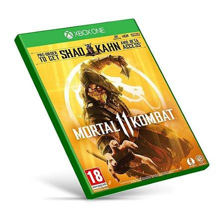Mortal Kombat 11 - Xbox One - Mídia Digital