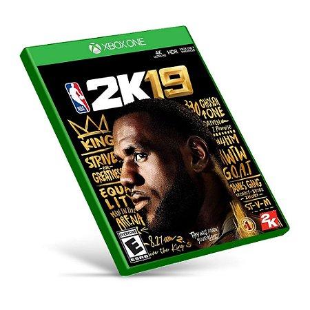 NBA 2K19 - Xbox One - Mídia Digital