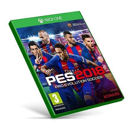 PES 2018: Pro Evolution Soccer - Xbox One - Mídia Digital