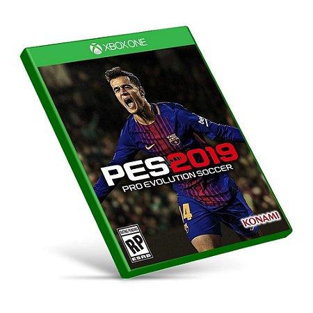 PES 2019: Pro Evolution Soccer - Xbox One - Mídia Digital