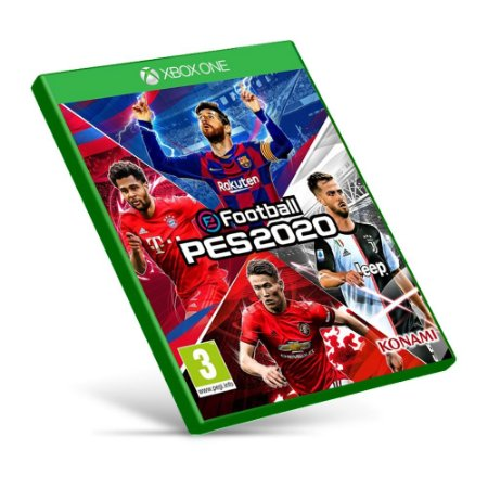 PES 2020 - Xbox One - Mídia Digital