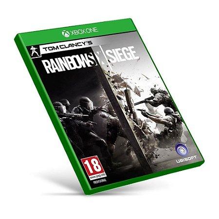 Rainbow Six Siege - Xbox One - Mídia Digital