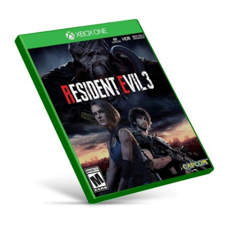 Resident Evil 3 Remake - Xbox One - Mídia Digital