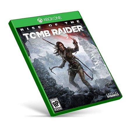 Rise of the Tomb Raider - Xbox One - Mídia Digital