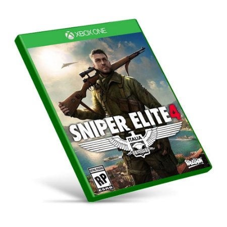 Sniper Elite 4 - Xbox One - Mídia Digital