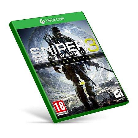 Sniper: Ghost Warrior 3 - Xbox One - Mídia Digital