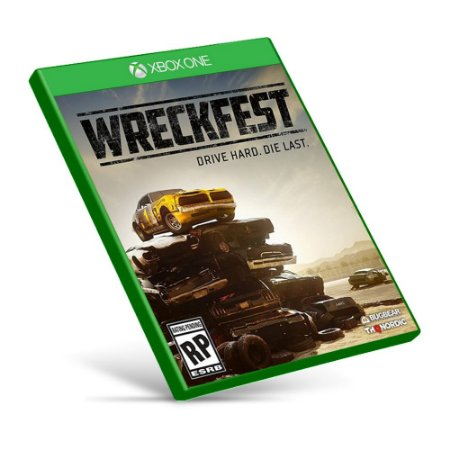 Wreckfest - Xbox One - Mídia Digital