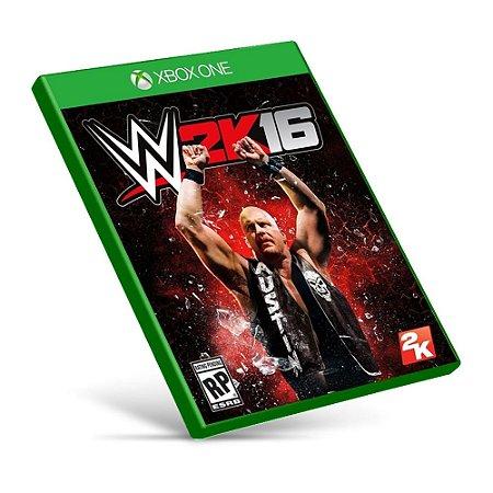 WWE 2K16 - Xbox One - Mídia Digital