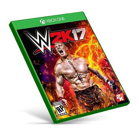 WWE 2K17 - Xbox One - Mídia Digital