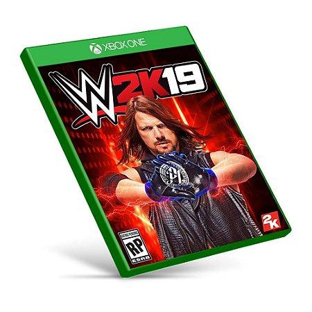 WWE 2K19 - Xbox One - Mídia Digital
