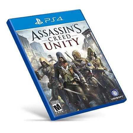 Assassins Creed: Unity - PS4 - Mídia Digital