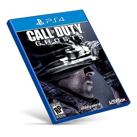 Call of Duty: Ghosts - PS4 - Mídia Digital