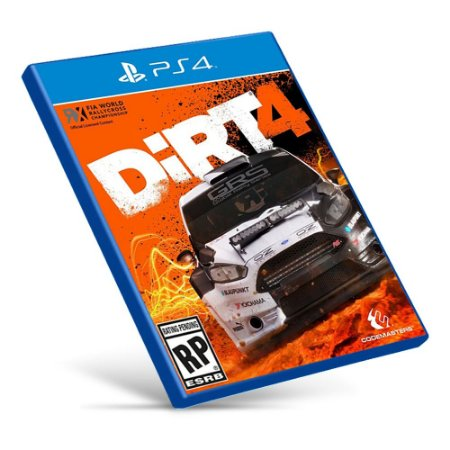 DiRT 4 - Ps4 - Mídia Digital