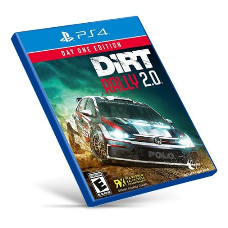 DiRT Rally 2.0 - PS4 - Mídia Digital