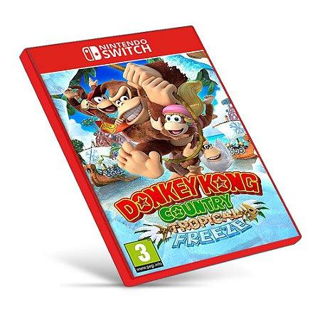 Donkey Kong Country Tropical Freeze - Nintendo Switch - Mídia Digital