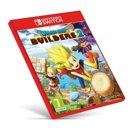 Dragon Quest Builders 2 - Nintendo Switch - Mídia Digital