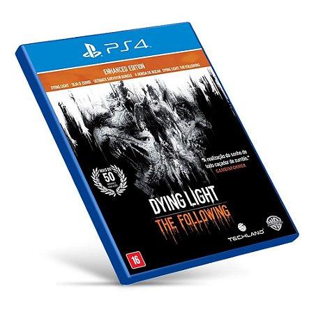 Dying Light: The Following - PS4 - Mídia Digital