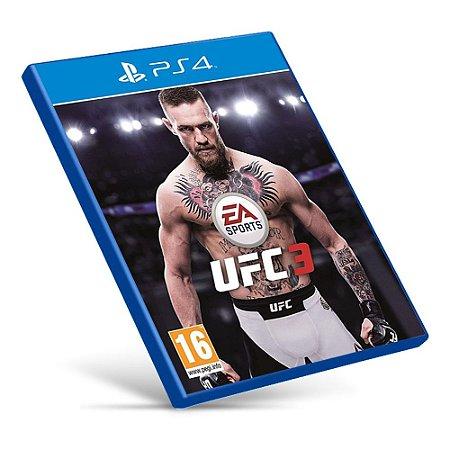EA Sports UFC 3 - Ps4 - Mídia Digital