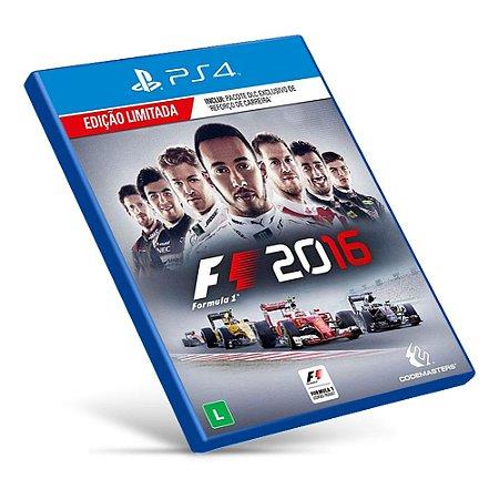 F1 2016 - Ps4 - Mídia Digital