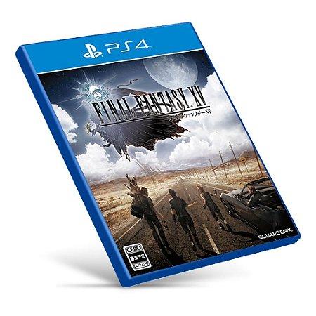 Final Fantasy XV - PS4 - Mídia Digital