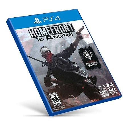 Homefront: The Revolution - PS4 - Mídia Digital