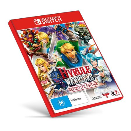 Hyrule Warriors: Definitive Edition - Nintendo Switch - Mídia Digital