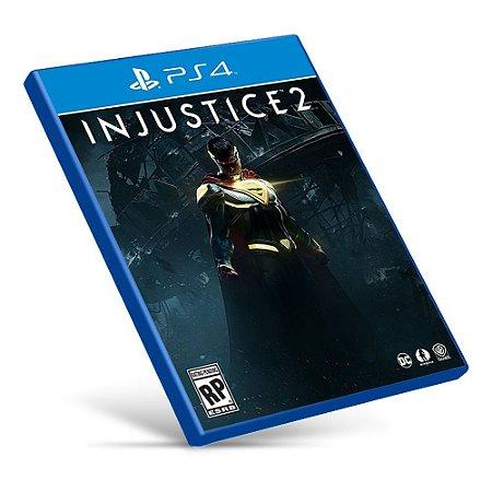 Injustice 2 - PS4 - Mídia Digital