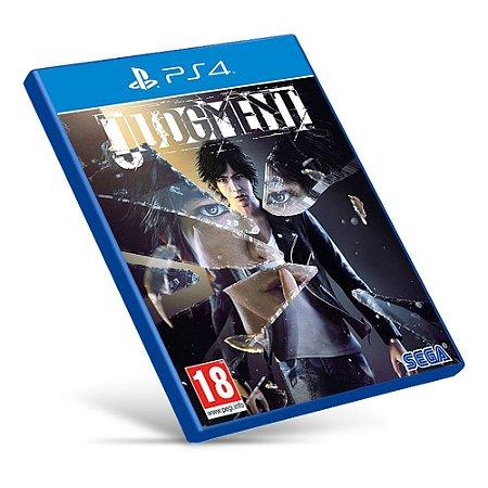 Judgment - PS4 - Mídia Digital