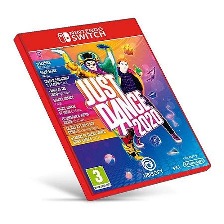 Just Dance 2020 - Nintendo Switch - Mídia Digital