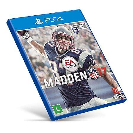 Madden NFL 17 - PS4 - Mídia Digital