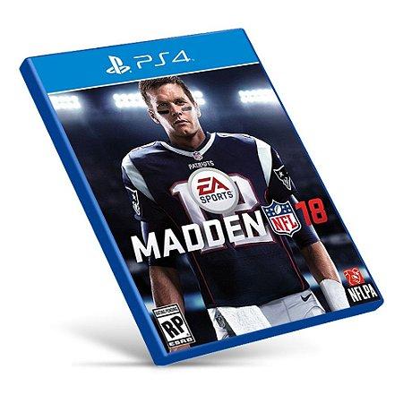 Madden NFL 18 - Ps4 - Mídia Digital