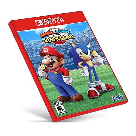 Mario & Sonic at the Olympic Games Tokyo 2020 - Nintendo Switch - Mídia Digital