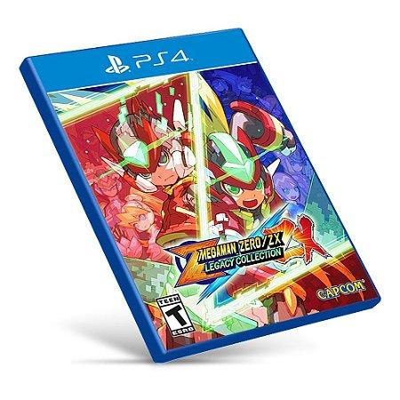 Mega Man Zero / ZX Legacy Collection - PS4 - Mídia Digital