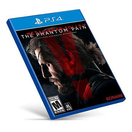 Metal Gear Solid V: The Phantom Pain - PS4 - Mídia Digital