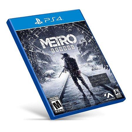 Metro Exodus - PS4 - Mídia Digital