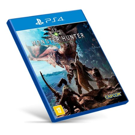 Monster Hunter: World - Ps4 - Mídia Digital
