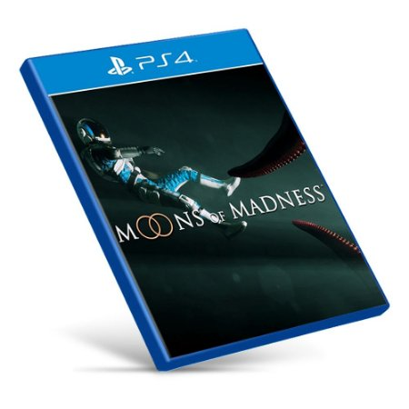 Moons of Madness - PS4 - Mídia Digital