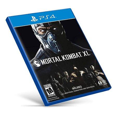 Mortal Kombat XL - PS4 - Mídia Digital