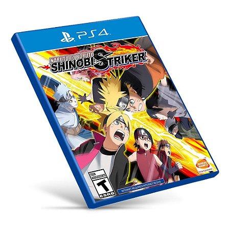 Naruto to Boruto: Shinobi Striker - PS4 - Mídia Digital