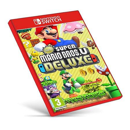 New Super Mario Bros. U Deluxe - Nintendo Switch - Mídia Digital