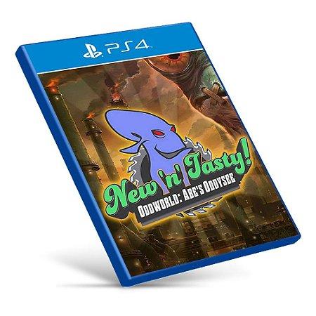 Oddworld: Abe's Oddysee New N' Tasty - PS4 - Mídia Digital