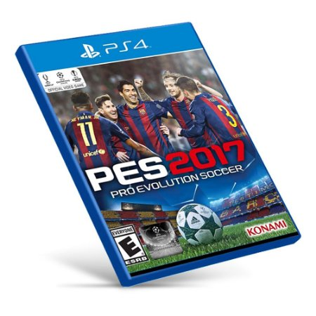 PES 2017: Pro Evolution Soccer - PS4 - Mídia Digital
