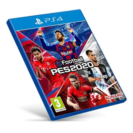 PES 2020 - PS4 - Mídia Digital