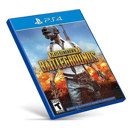 Playerunknown's Battlegrounds - Ps4 - Mídia Digital